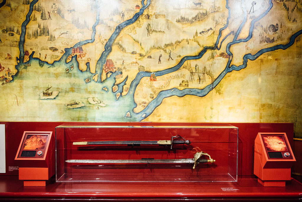 American Swedish Historical Museum -Golden Map Room object
