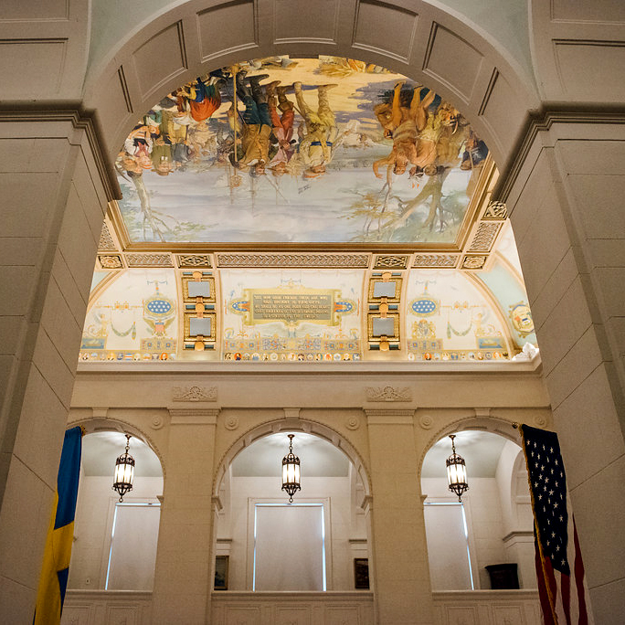 American Swedish Historical Museum - Grand Hall