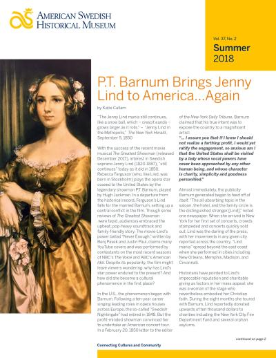 American Swedish Historical Museum - Summer 2018 Newsletter