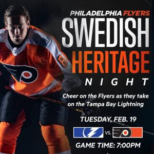 ASHM Swedish Heritage Night with the Flyers