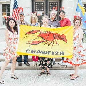 Crayfish Party at the American Swedish Historical Museum