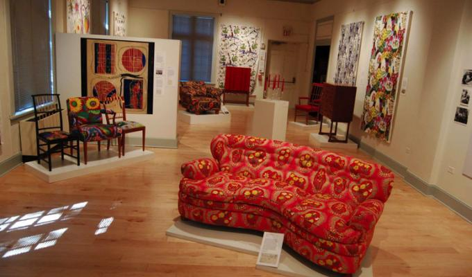 American Swedish Historical Museum - Josef Frank exhibition